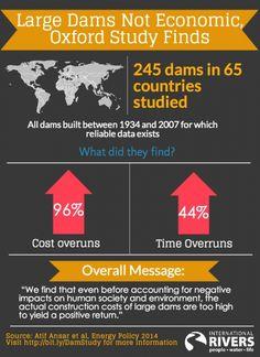 Large Dams Are Uneconomic, Scientific Study Finds | International Rivers