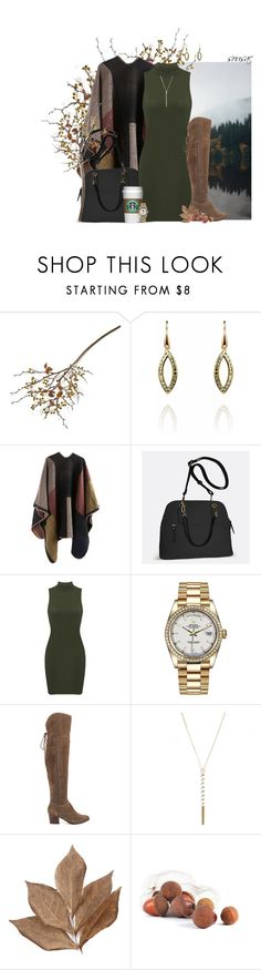 """""""The First Day of Autumn. X."""" by sousac ❤ liked on Polyvore featuring Crate and Barrel, STARRS LONDON, Avenue, Rolex, ALDO and Bliss Studio"""