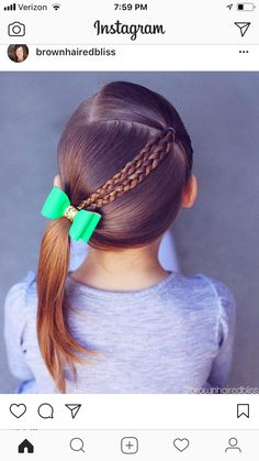 Little Girls Hair Cuts. Wanting to find some trendy and stunning hair styles for little girls? Easy Toddler Hairstyles, Baby Girl Hairstyles, Princess Hairstyles, Braided Hairstyles, Trendy Hairstyles, Young Girls Hairstyles, Easy Little Girl Hairstyles, Hairstyles 2016, Girl Haircuts