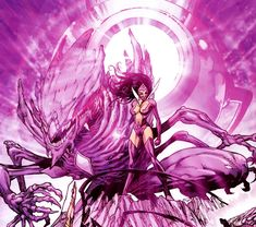 The Predator...the Entity of Love and SS Carol Ferris