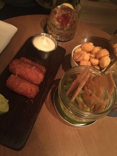 Bar Snacks at the Edition Snack Bar, Tack, London, Meat, Room, Bedroom, Rum