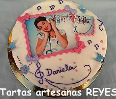 Tarta de Violetta