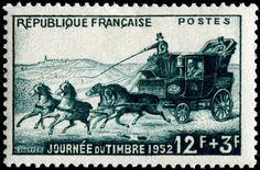 FRANCIA Carruaje Postal