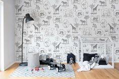 Behang Kinderkamer Zebra : Beste afbeeldingen van kinderkamer in murals wall