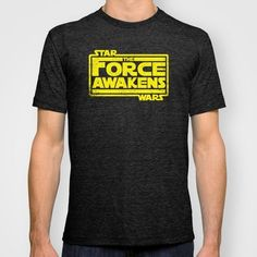 Star Wars: The Force Awakens Inspired Tshirt in Men's and Women's Sizes