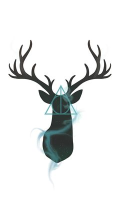 Harry Potter Stag & Deathly Hallows Design!