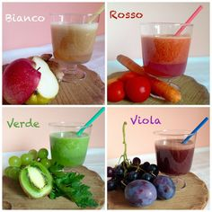 PicMonkey Collage Vegan Breakfast Smoothie, Vegan Smoothies, Healthy Eating Habits, Healthy Drinks, Real Food Recipes, Cooking Recipes, Healthy Recipes, Cocktail Juice, Italy Food