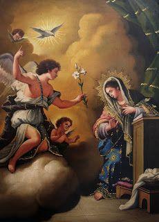 La Anunciación y la encarnación el Verbo