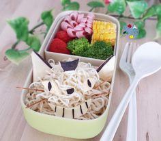Catbus Noodles bento   Bento Days