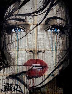 Art by Loui Jover; Arte Pop, Collage Portrait, Collage Art, Portraits, Desenho New School, Newspaper Art, Poster Art, Desenho Tattoo, Human Art