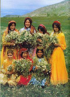 Village Girls, #Iran   travel to Iran with @surfingpersia