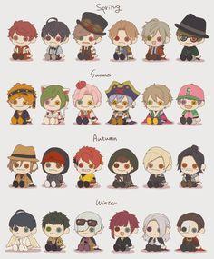 Free Anime, Cute Anime Boy, Hisoka, Anime Comics, Pretty Boys, Haikyuu, Manga Anime, Character Art, Chibi