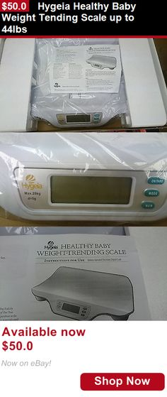Baby Scales: Hygeia Healthy Baby Weight Tending Scale Up To 44Lbs BUY IT NOW ONLY: $50.0