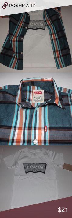 I just added this listing on Poshmark: Levi's boys casual shirt set (2) size 6&5. #shopmycloset #poshmark #fashion #shopping #style #forsale #Levi's #Other