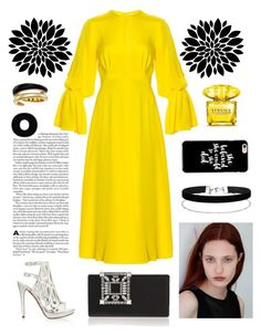 """""""She believed she could so she did!"""" by marianasm on Polyvore featuring Roksanda, Manolo Blahnik, Versace, Miss Selfridge and Michael Kors"""