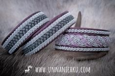 Reindeer Antlers, Handicraft, Hand Stitching, Hand Carved, Carving, Bracelets, Silver, Leather, Beautiful
