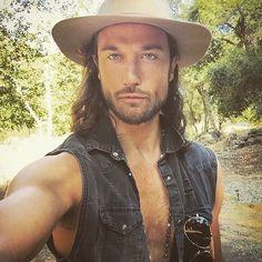 "Zander Bleck on IG:  ''Just arrived to this ""Camp Mars""... Thanks for the invite @JaredLeto @adventuresinwonderland''"
