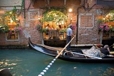 To dine in this seat, at this restaurant in Venice, Italy -- called Osteria Da Fiore.