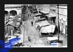 Calle Unión esquina con 5 de Mayo (foto AGM)