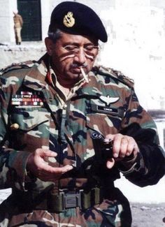 Still fit at the age of 69 , Respected Pervez Musharraf from Pakistan :)