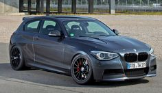 A slightly modified bmw m135i developing 325 bhp