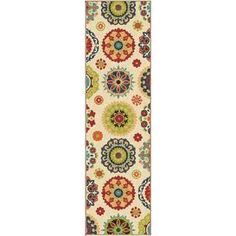 @Overstock - Promise Salsalito Beige Rug (2'3 x 8') - A whimsical array of colors and design, this slender rug is a delightful way to brighten up the style and decor in any room. As a focal point for your indoor or outdoor living spaces, this rug is sure to add warmth and character to any area.  http://www.overstock.com/Home-Garden/Promise-Salsalito-Beige-Rug-23-x-8/9331945/product.html?CID=214117 $50.99