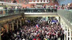 "Les Misérables -- St. Pancras Flashmob ""Do You Hear The People Sing""--instant chills."