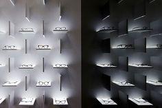 Bolon Eyewear, Shanghai. 프로젝트 진행 Ippolito Fleitz Group – Identity Architects, 장식요소.