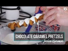 Everyone loves chocolate — yes, even Olympic athletes — and short-track speed skater Jessica Kooreman is no exception. While she tries to eat healthy most of. How To Temper Chocolate, Love Chocolate, Chocolate Caramels, Tempering Chocolate, Brownie Recipes, Dessert Recipes, Candy Popcorn, Pretzel Sticks, Cake Pops