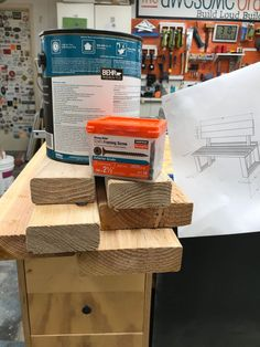 Materials and plans… I think I'm ready to go! Bench With Back, Diy Furniture Plans, Shed, Backyard, How To Plan, Diy Ideas, Outdoor, Outdoors, Patio