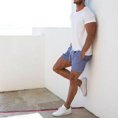 Cool 12 Trendy Men Summer Outfits Ideas That Look More Cool Summer clothing ideas for men certainly do not want to use clothes made from thick. The reason is that during the summer the weather is very hot so yo. Trendy Mens Fashion, Stylish Men, Men Casual, Men Summer Fashion, Fashion Men, Fashion Rings, Stylish Outfits, Winter Fashion, Summer Outfits Men