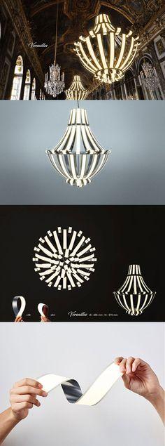 Alexandre Boucher – Versailles OLED Chandelier #designideas #designinspiration #design #productdesign #design #industrialdesign #oled #led #lg #lifhting #light #lightdesign #lightingdesign #lamp