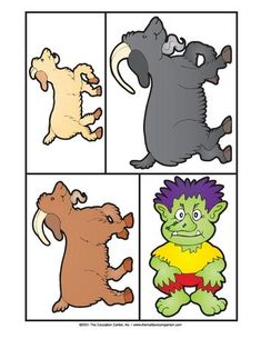 Three Billy Goats Gruff, Lesson Plans - The Mailbox Rhyming Preschool, Nursery Rhymes Preschool, Preschool Ideas, Fairy Tales Unit, All About Me Preschool, Billy Goats Gruff, Fairy Tale Theme, Traditional Tales, Little Pigs