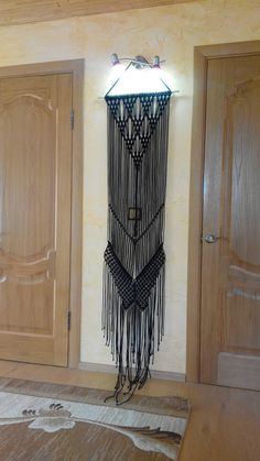 Prettiest, elegant macrame curtain ever! New black fringe macrame wall hanging in the shop! Complete any room in your house with this cute, bohemian piece. This is a luxurious handcrafted backdrop that can be used for indoor or outdoor ceremonies. Use at your ceremony, reception,