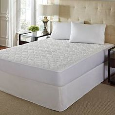 +Hotel by K-bros&Co Hotel Laundry Comfort Cushion Memory Foam Mattress Pad Twin Xl Mattress, Queen Memory Foam Mattress, Twin Xl Bedding, Queen Mattress, Best Mattress, Mattress Pad, Bedding Basics, Home Comforts, Cushions