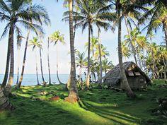 """The Corn Islands lie off the Caribbean coast of Nicaragua. Here, a casita at Derek's Place."" http://www.dereksplacelittlecorn.com/en/inicio/index.php"