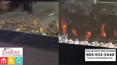 Dimplex vs. Napoleon Wall Mount Electric Fireplace Product Comparison