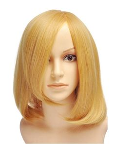 Eborn Short Blonde Wig Cosplay at nextwigs.com