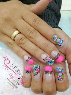 Henna Style, Fingernail Designs, Pedicure, My Nails, Hair Beauty, Nail Polish, Nail Art, Erika, Mj