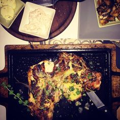1/2 a juicy yummy chicken at TO KREAS, Petralona