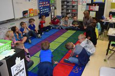 Trauma-Informed Schools:  One of the first graders in Lori Williams' classroom is clearly restless during the students' morning community circle. As the children discuss their