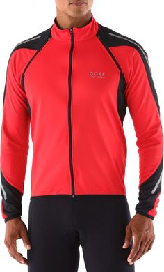 The GORE BIKE WEAR Phantom 2.0 SO soft-shell bike jacket is a smart choice for fall and spring cycling.
