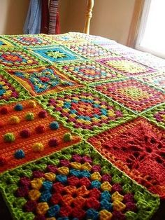 Stacy's Thoughts & Designs 88: Loving Crocheted Yummy Colorful Goodness