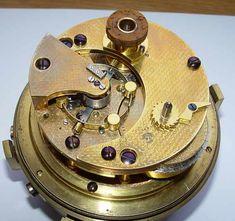 ULYSSE NARDIN #169. Suisse. Rare Marine chronometer.