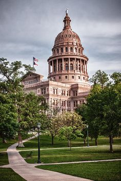 The Texas Capitol Building, located in Austin, Texas.