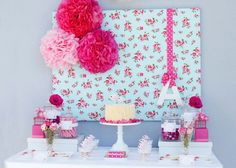 I love this sweet birdy tea party theme styled by Ruby May Designs , beautiful colours, love the rose backdrop, the beautiful ruffle cake wi. 2nd Birthday, Birthday Parties, Frozen Birthday, Tea Party Theme, Baby Shower Backdrop, May Designs, Party Decoration, Girl Shower, Party Time