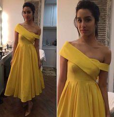Shraddha Kapoor yellow dress