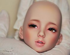 Narae Haft eye, tan skin by ♥..Nomyens..♥ on Flickr.Via Flickr:  Custom face-up work  Narae Haft eye, tan skin  Request: Soft baby pink natural, my stylewww.nomyens.com