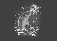 """""""Narwhal Skewer"""" - Threadless.com - Best t-shirts in the world"""