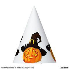 Jack O'Lantern in a Hat
